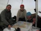 Turleder Øystein, Berit, Kristin og Marit planlegger neste etappe.