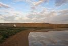 Sandstranda ved sørenden av Saravann